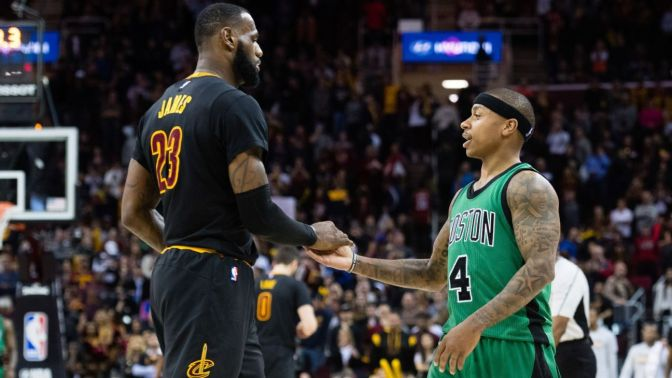 LeBron Slams Fans For Burning Of Isaiah Thomas Jerseys