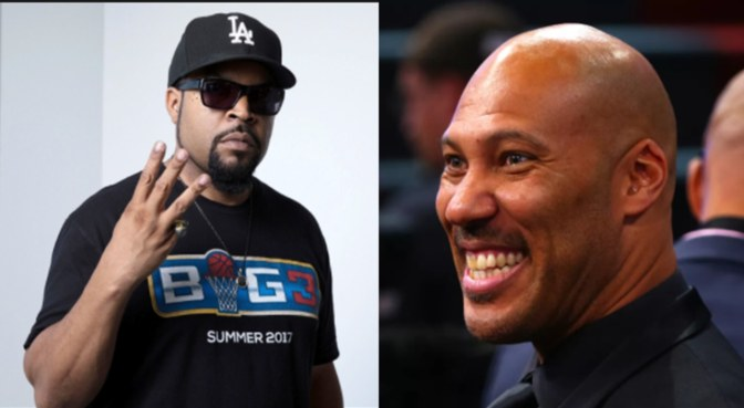 Ice Cube Heats Up Challenge To LaVar Ball