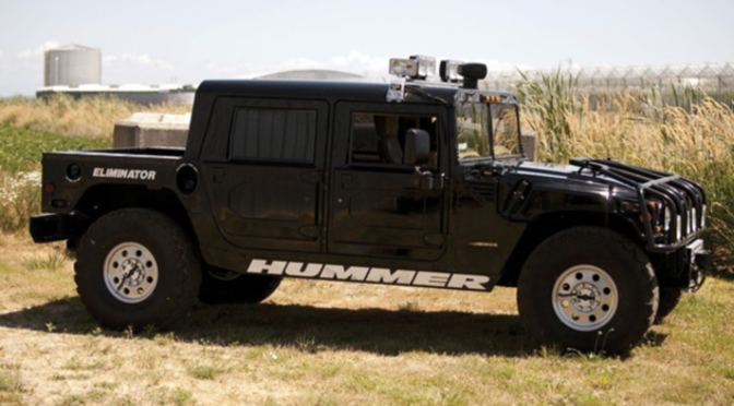 Tupac's Hummer Back Up For Auction