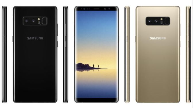 Samsung Wows Fans With The Reveal Of The Galaxy Note 8