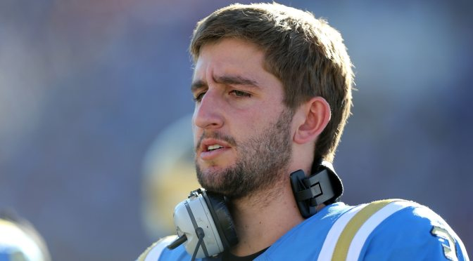 UCLA's Josh Rosen: Football and School Don't Go Together