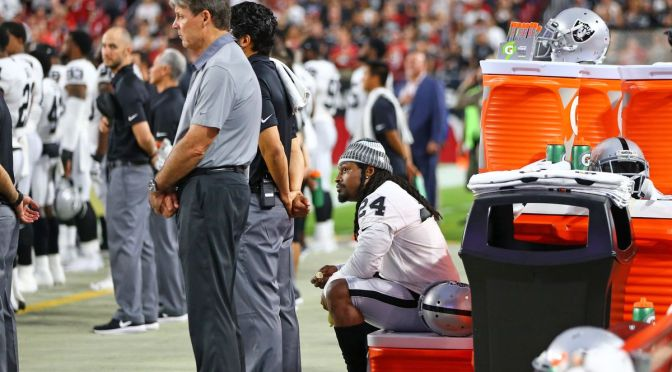 What Does Marshawn Lynch's Silent Protest Say About The Kaepernick Situation?