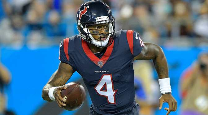 Deshaun Watson Donates First Game Check To Colleagues