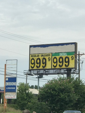 Alvin Glymph submitted this shot of outrageous gas prices in lieu of Hurricane Irma.