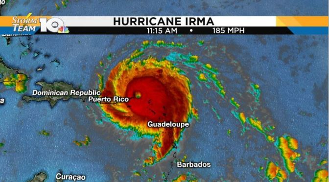 Hurricane Irma Strongest Ever Recorded Just As Climate Scientist Predicted