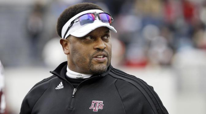 Kevin Sumlin Received Racist Letter After Loss
