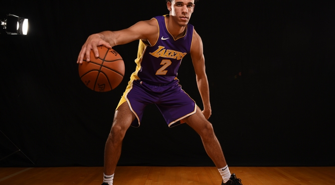 "Lonzo Ball Drops His New Song ""ZO2"""