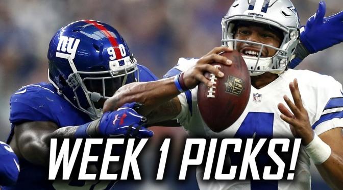 Defy Life NFL Picks Challenge: Week 1