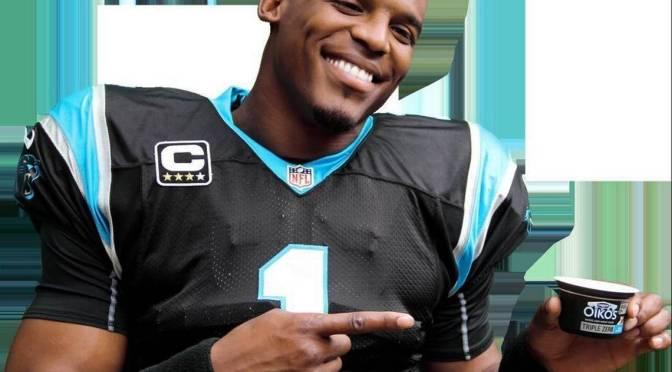 Cam Newton Loses Dannon Edorsement