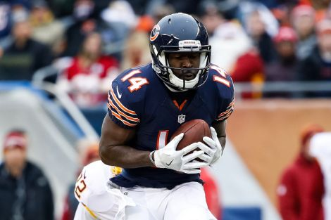 Deonte Thompson...Thompson is fresh off waivers from the wide receiver needy Chicago Bears. Now he's a Buffalo Bill flashing his speed for Tyrod Taylor. Thompson caught 4 balls for 104 yards. He just may be the deep threat the need.