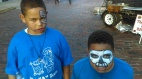 J.R Glymph got this shot of his kids with their faces painted at Oktoberfest in Newberry, SC.