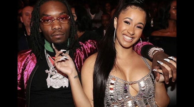 Offset Proposes to Cardi B On Stage