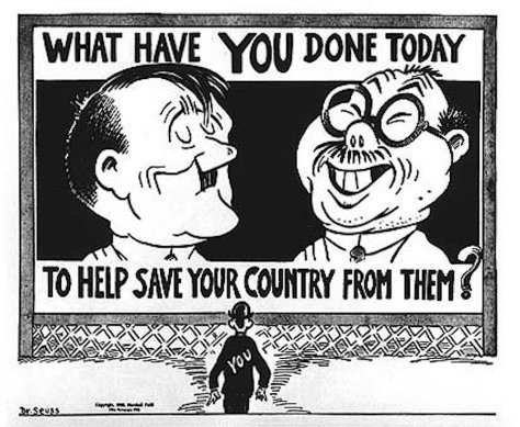 seuss-inveighed-against-the-japanese-in-his-political-cartoons-during-world-war-ii-he-drew-them-bucktoothed-with-squinty-eyes