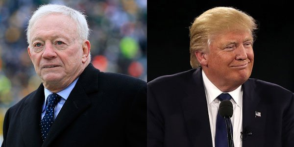 Donald Trump Lauds Jerry Jones For Anthem Threat