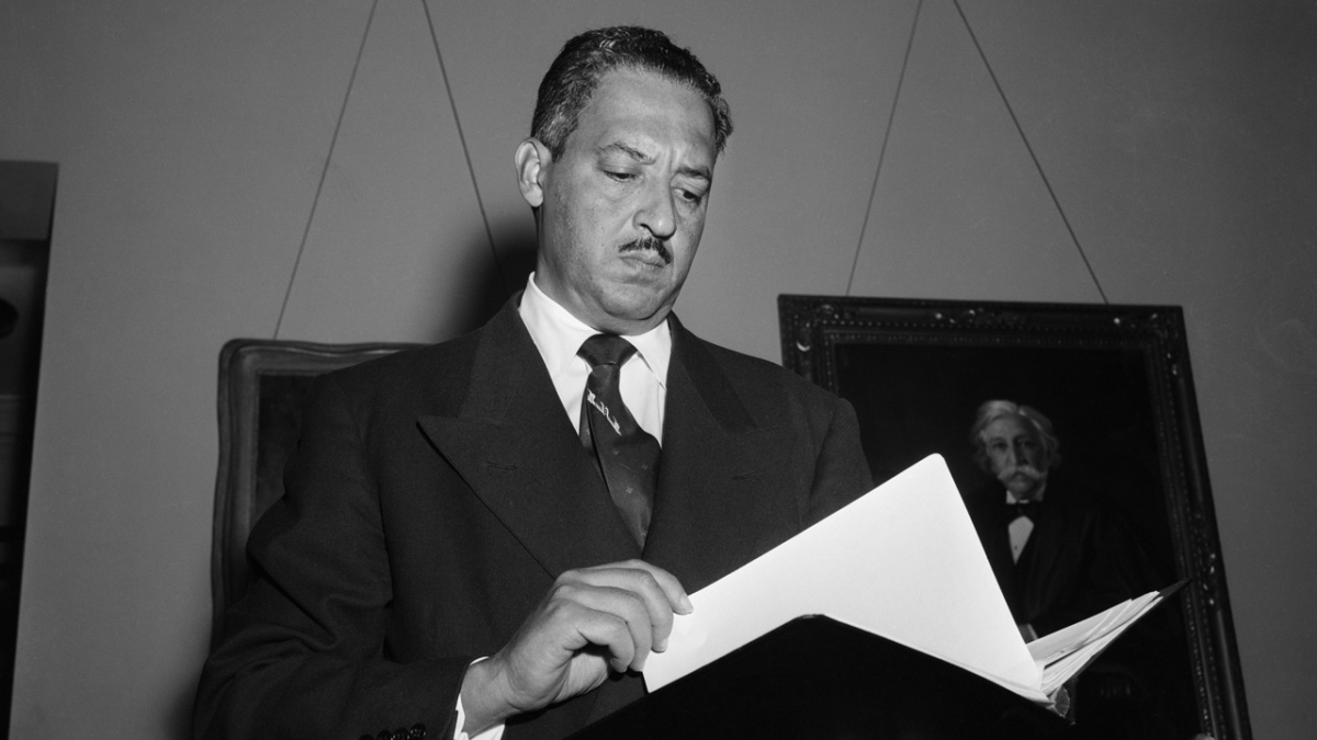 Justice Thurgood Marshall Was A Secret FBI Informant
