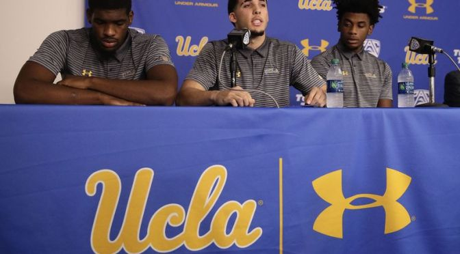UCLA Players Thank President Trump During Press Conference