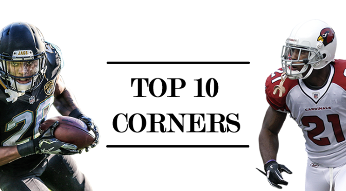 Top 10 cornerbacks through the first ten weeks: