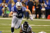 Jack Doyle...Doyle has emerged as the Colts number 1 pass option in the absence of Andrew Luck. Doyle had caught 12 balls for 121 yards with 1 touchdown, against the stingy Bengals defense.