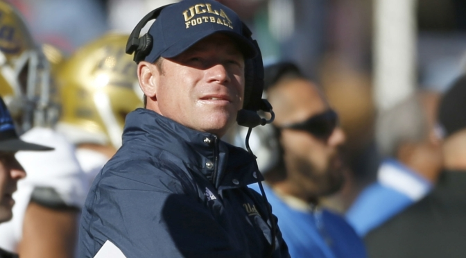 UCLA Fires Jim Mora After 6 Seasons