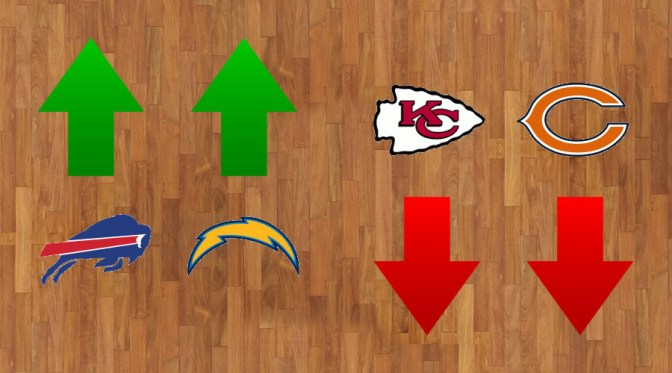 NFL Power Rankings heading into the fourth quarter of the 2017 season: