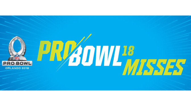 Biggest Pro Bowl misses: