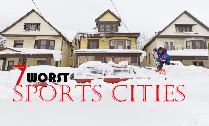 7 Worst Sports Cities