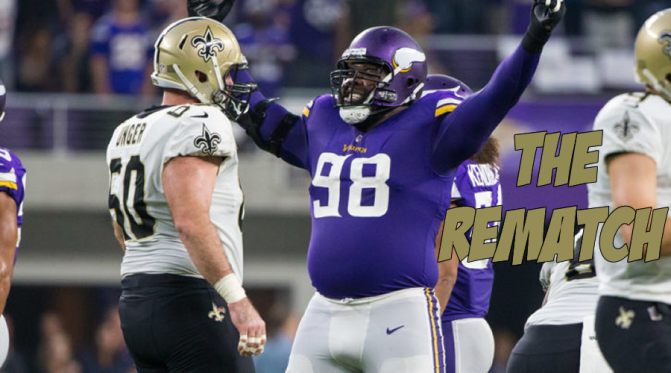 Why the rematch between the Saints and Vikings might look different: