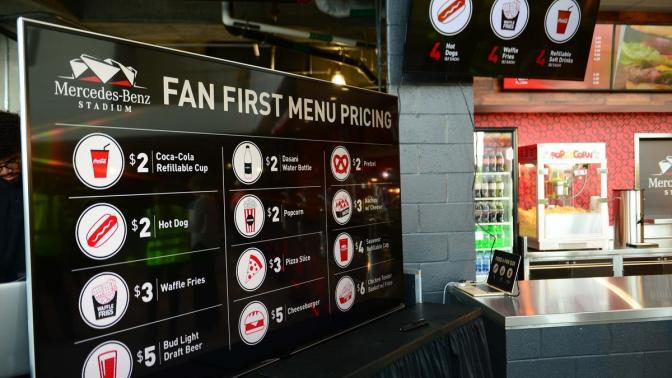 Falcons Dropped Food Prices And Made More Money In 2017