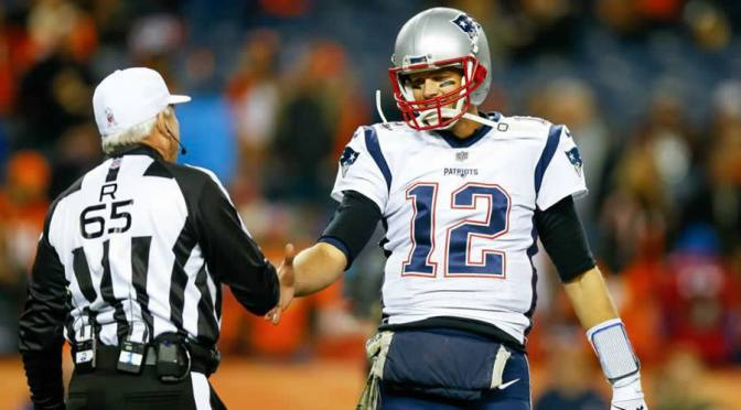 How the Patriots have been on the right side of the whistle all year long: