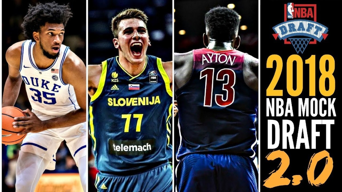 My 2018 Top 5 NBA Draft prospects