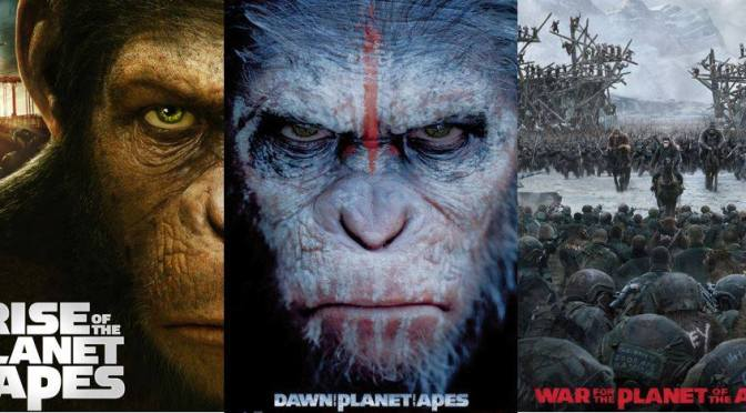 Migs' Top Cinematic Picks: Planet of the Apes Trilogy