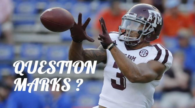 Biggest question marks for some of the draft prospects: