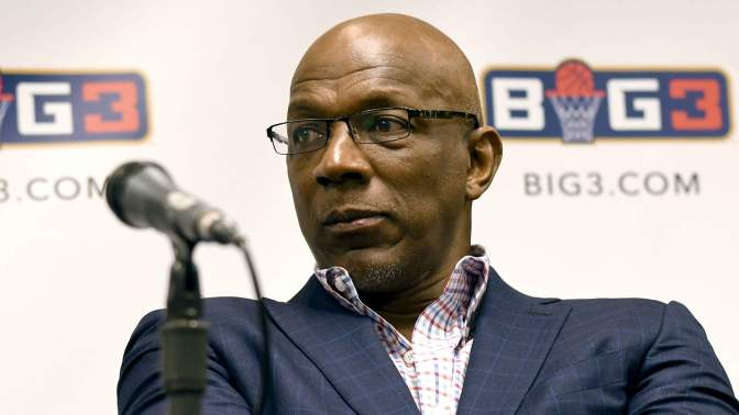 Clyde Drexler New BIG3 Commissioner