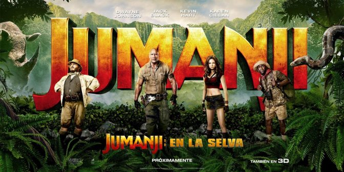 Movies With Migs: Jumanji: Welcome to the Jungle brings the fun from the original back