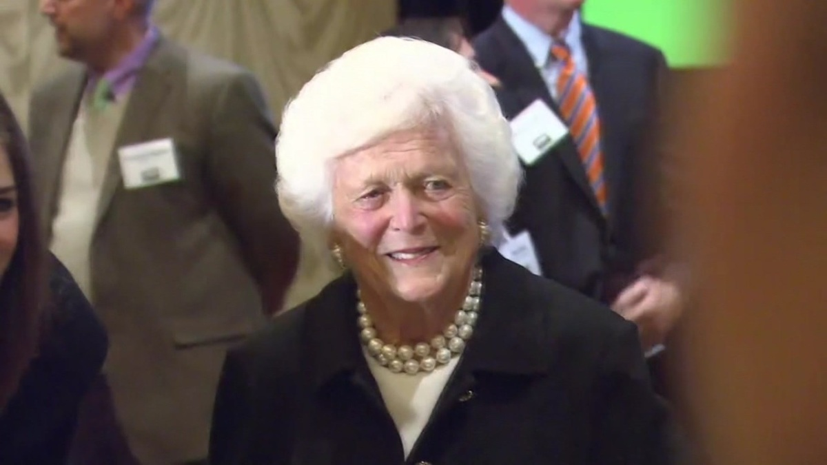 "Barbara Bush the ""Nasty Drunk"" and ""Amazing Racist"""