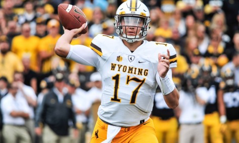 NCAA Football: Wyoming at Iowa