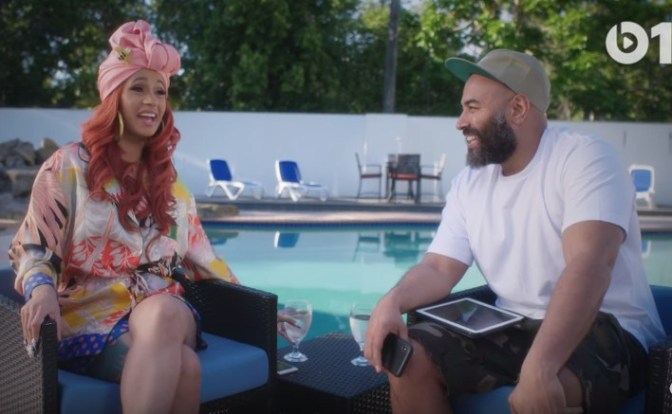 Cardi B. Sits Down With Ebro For An Exclusive Interview. Check It Out Here!