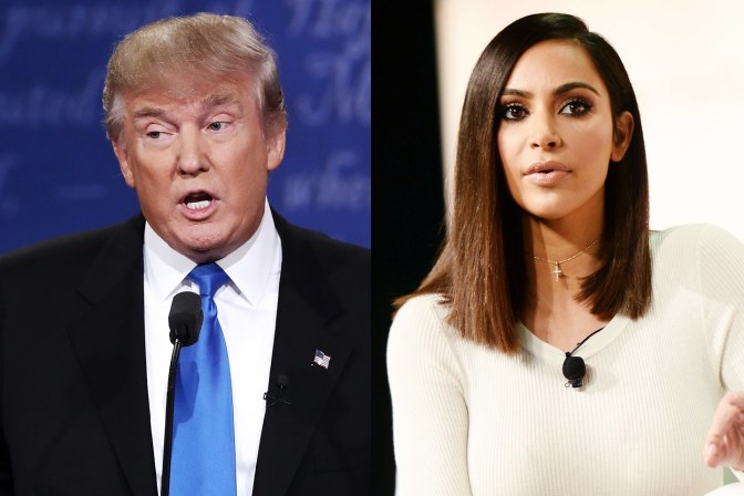 Kim Kardashian Meets with Donald Trump