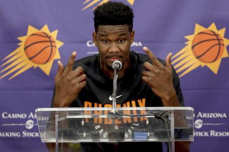 Suns Ayton Basketball