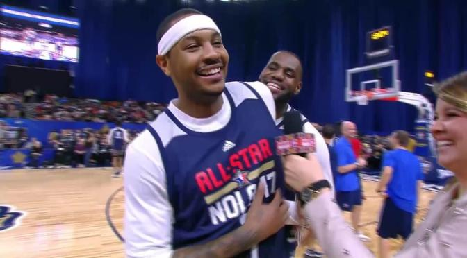 After Finalizing Buyout with the Hawks Melo Sets His Sights On Houston