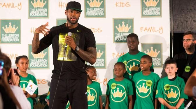 LeBron James' I Promise School Opens