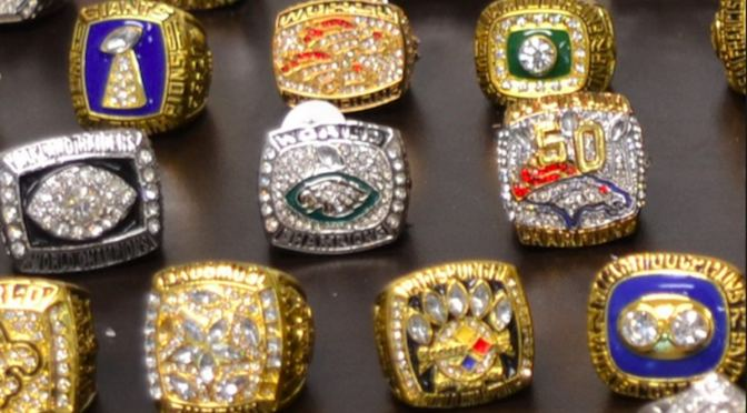 Over 100 Fake Super Bowl Rings Seized By Authorities