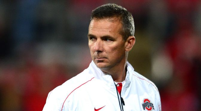 Urban Meyer Head Coach Of Ohio State Buckeyes Football Team Placed on Administrative Leave