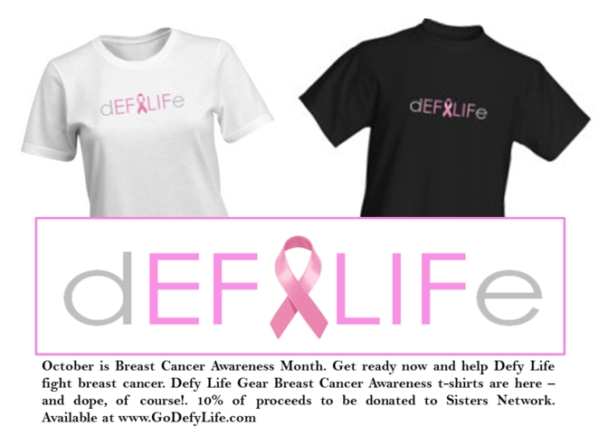 Help Defy Life Support Breast Cancer Awareness
