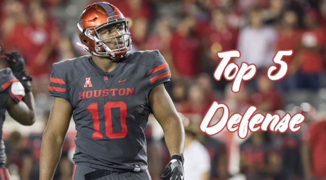 Top five players at each position in college football – Defense edition: