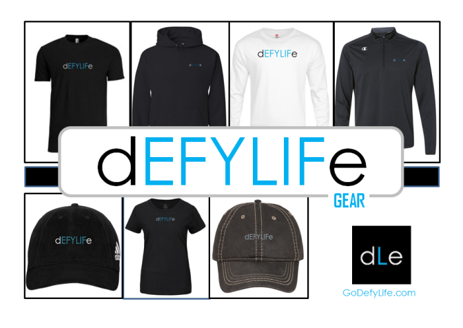 Defy Life Gear Is Here!