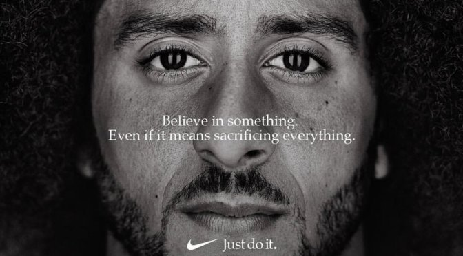Nike Features Colin Kaepernick In 'Just Do It' Campaign