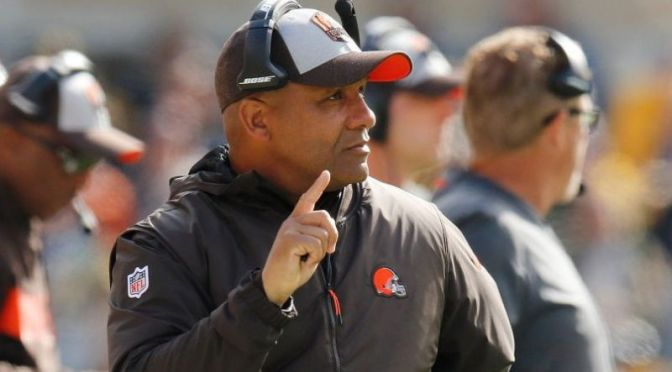 Browns Fire Hue Jackson