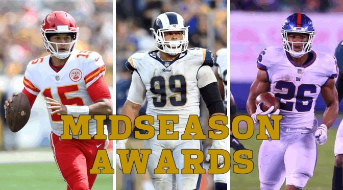 Mid-season NFL awards: