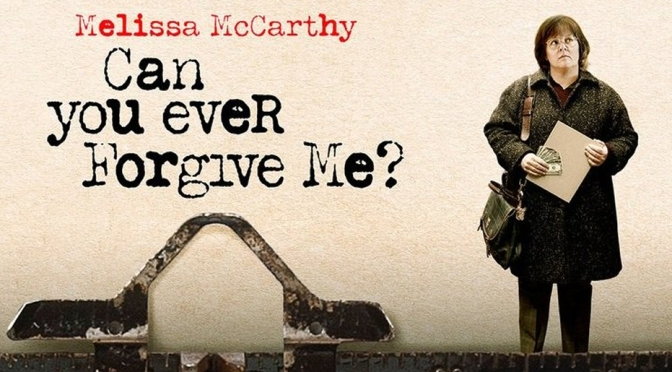 Movies With Migs: Can You Ever Forgive Me?